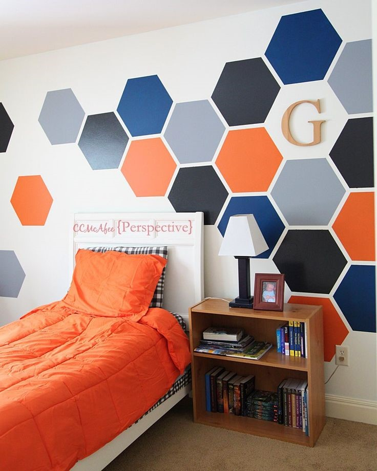 Hexagon Wall Collage