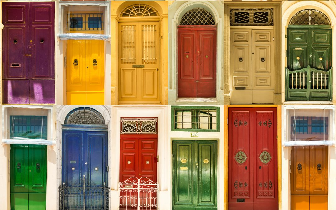 Picking the Right Color for Your Front Door