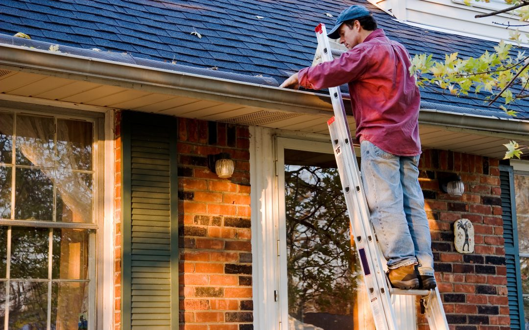 home maintenance at the roof