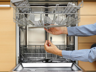 how to install a dishwasher by yourself