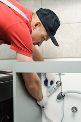 installing the drain tubing on how to install a dishwasher