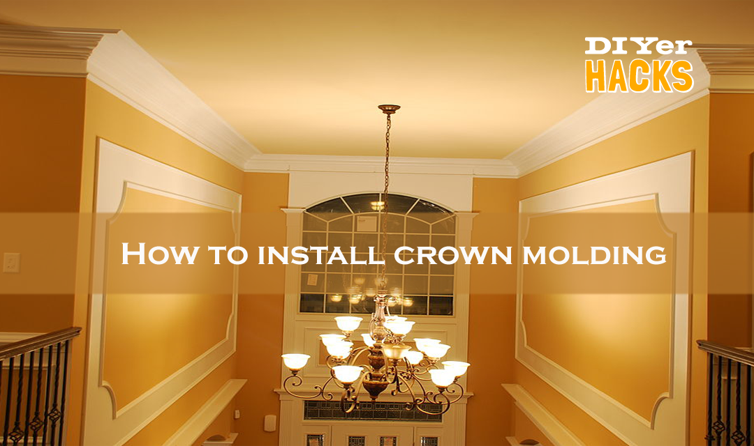 Learning How To Install And Cut Crown Molding In Your Walls