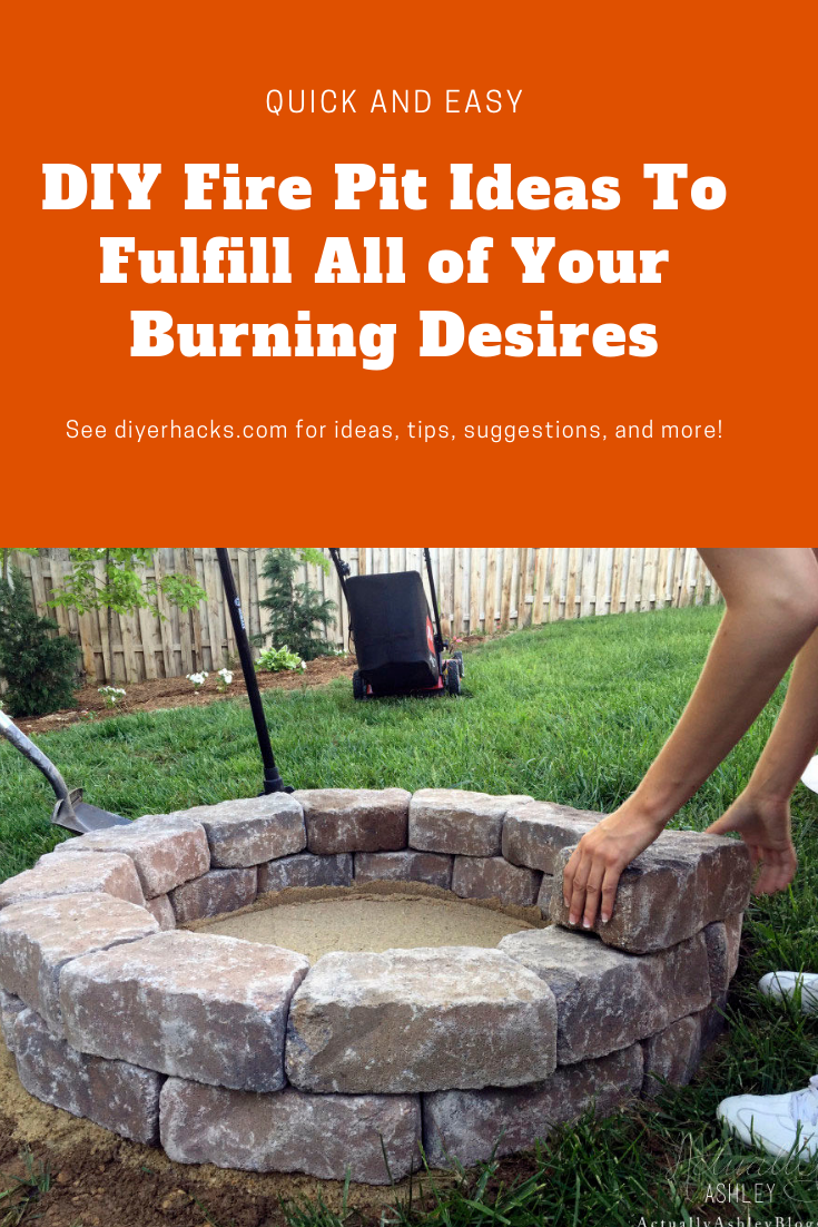 Fire Pit Ideas A Quick And Easy Guide To Fulfill Your Burning Desire